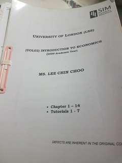 UOL Introduction to Economics