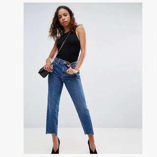BNWOT Petite Original Mom Jeans
