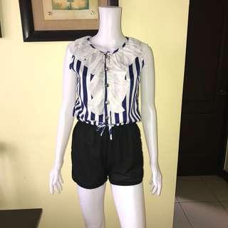 Stripes rompers S