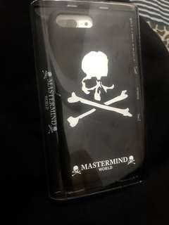 全新真品 MMJ mastermind iPhone 7/8 plus專用帥殼 便宜賣 現貨2個 比supreme yeezy off white帥