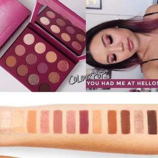 〈現〉Colourpop you had me at hello eyeshadow palette 眼影盤