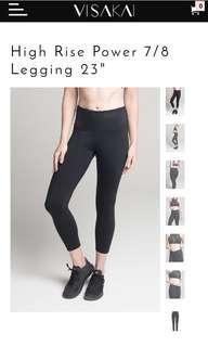 VISAKAI Legging 美國入口 專利 運動 瑜伽褲 lululemon