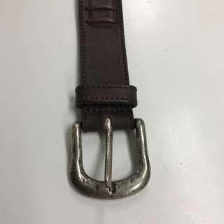 Emporia Armani men's leather belts
