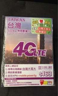 台灣 上網卡