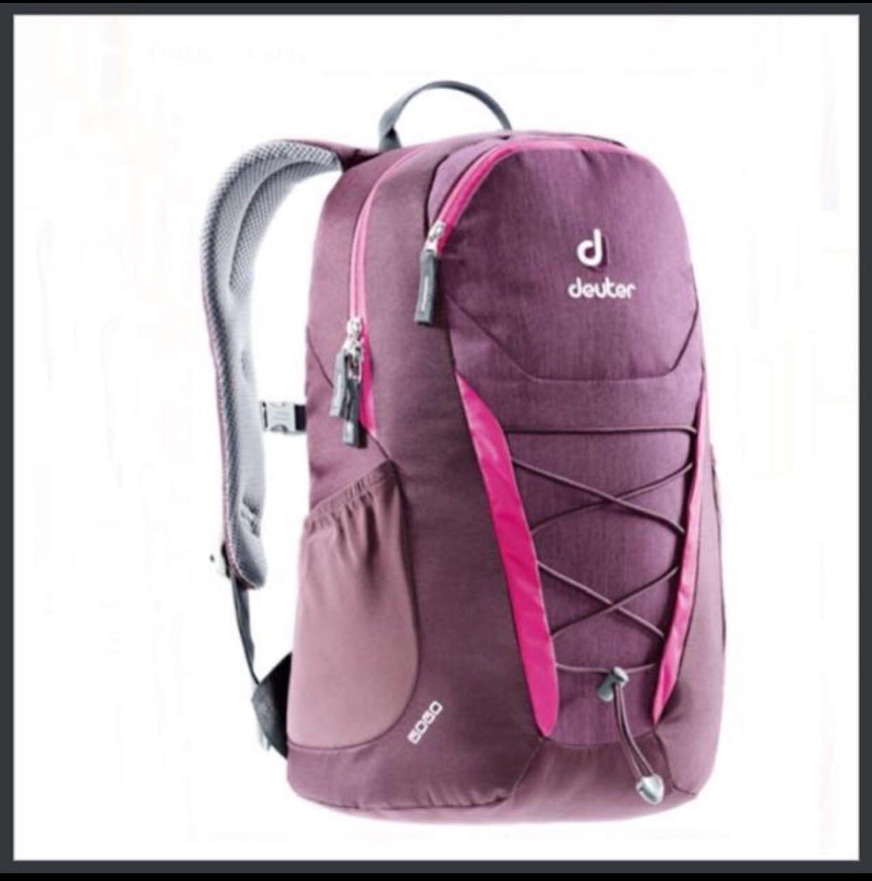 91f29acb0706 💚2019💚 Deuter GOGO [Blackberry Dresscode] Daypack Backpack School ...