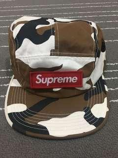 Supreme 5 Panel Camp Cap Camo