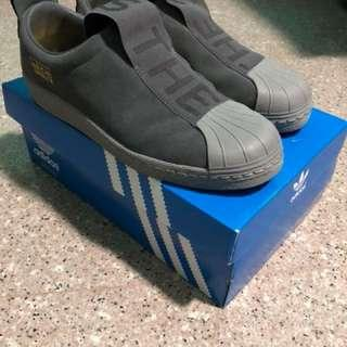 Adidas Superstar Slip On (Grey Suede) acfc7ec143d5b