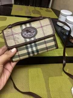Burberrys Sling Wallet AUTHENTIC