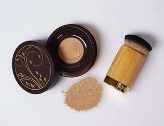 Tarte Amazonian Clay Full Coverage Airbrush Foundation (Light Neutral) + Tarte Airbuki Bamboo Powder Foundation Brush