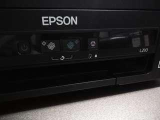 Epson L210 3-in-1 with new inks