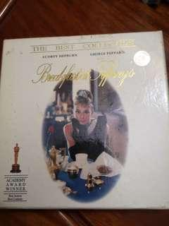 Audrey Hupburn -breakfast at Tiffany's 第凡內早餐 DVD