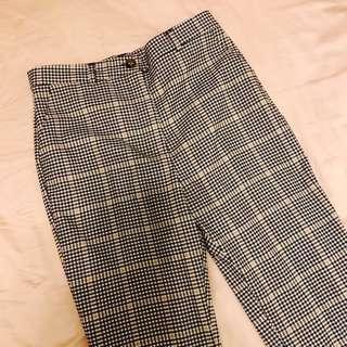 Monki Checked Trousers