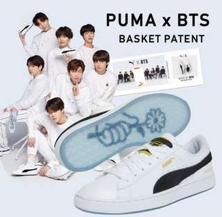 PO Authentic BTS x Puma Basket 2018 Collection c4069eedd