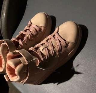 Human Rose pink shoes