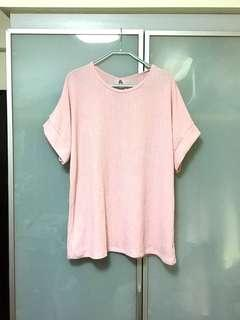 Plus size pink top new condition
