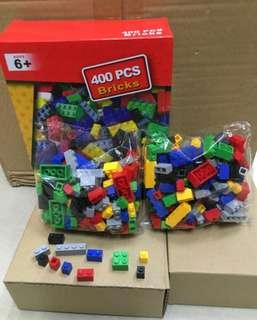 Building blocks 400pcs