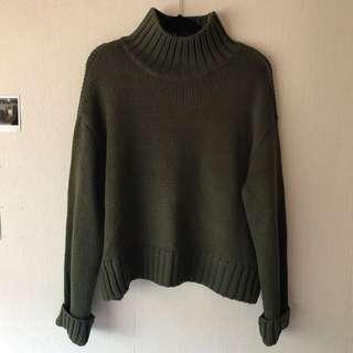 ASOS Turtle knick oversized knit jumper