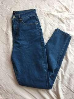 Forever21 high waisted jeans