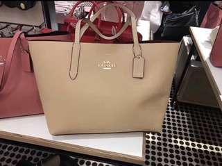 Original coach women Shoulder tote bag handbag