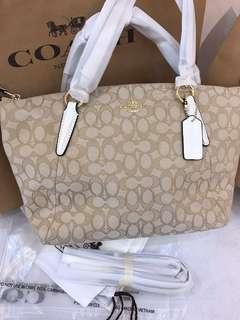 Original coach women kesley medium tote handbag