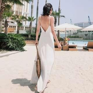 Preorder - white long dress