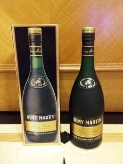 舊裝黑章Remy Martin VSOP 40% 70cl Cognac Brandy 人頭馬干邑拔蘭地