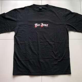 No Fear Classic Crewneck Black US Size XL T-Shirt
