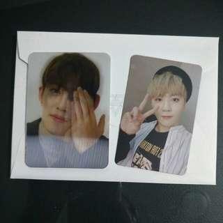 [WTS] Seventeen S.Coups & Seungkwan Photocard lenti