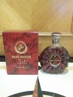 舊裝連盒Remy Martin XO 40% 70cl Cognac Brandy 人頭馬XO干邑拔蘭地
