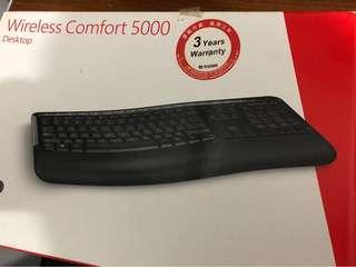 Microsoft wireless keyboard set wireless comfort 5000