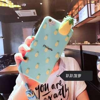 Pineapple iPhone 8+ Soft Casing