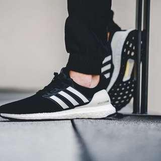 "Ultra Boost 4.0 Black White ""Show Your Stripes"""
