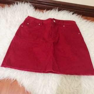 Forever21 Red Skirt