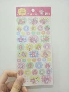 (3 for rm10) Planner Stickers (transparent based)