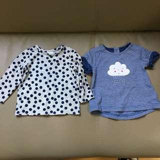 全新嬰兒bb衫仔