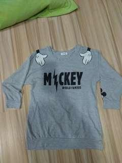 Sweatshirt mickey disney size about L