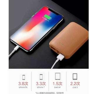 Power Bank 2 USB , portable and light. small and compact