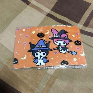Kuromi octopus card sticker
