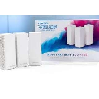 new linksys velop set of 3 (triband)