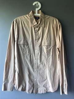 Jasper Conran Men's shirt. My size. Light brown