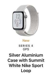 Nike Apple Watch 40mm White Summit Loop