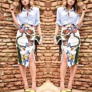 Blouse & Skirt Terno