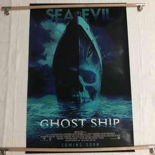 GHOST SHIP original movie poster