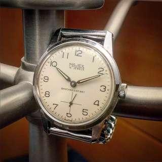 Vintage 1950s Mint Dial Majex Wristwatch