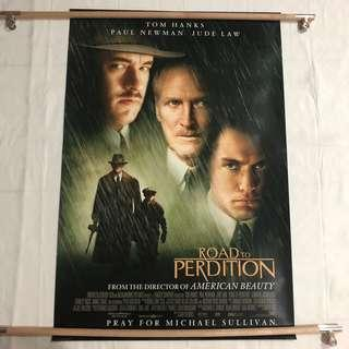 ROAD TO PERDITION original movie poster