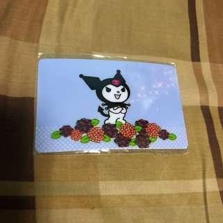 Kuromi octopus card sticker 八達通貼