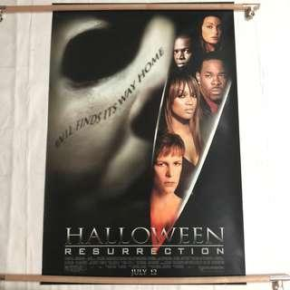 HALLOWEEN RESURRECTION original movie poster