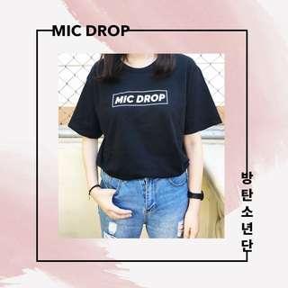 BTS Mic Drop Shirt