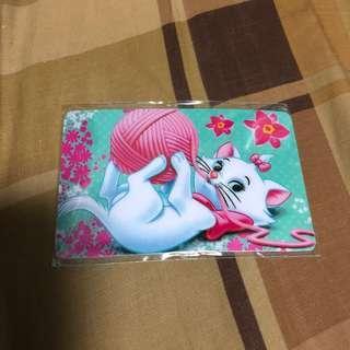 Marie Cat octopus card sticker