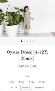 Brand New Oyster Dress Size S